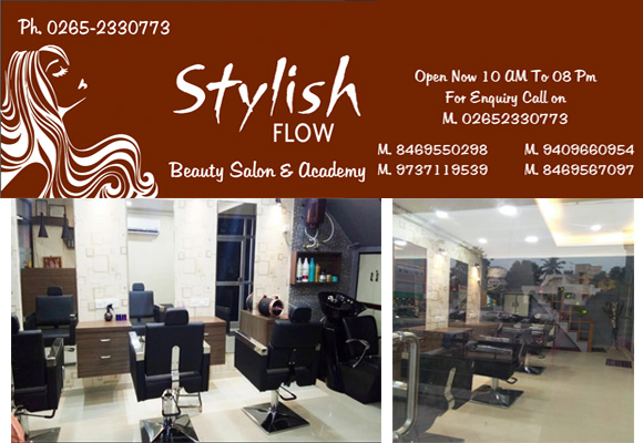 Stylish Flow Beauty Salon Vadodara Helpline
